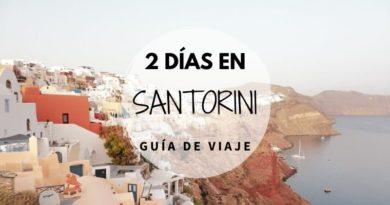 Guíar para viajar a Santorini