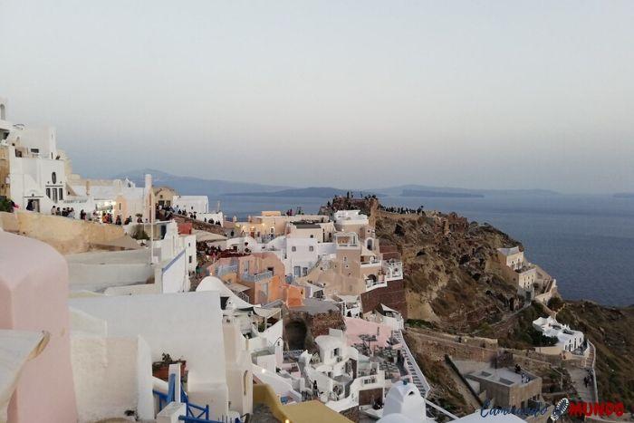 Santorini y sus hermosos pueblos