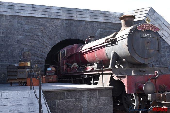 Locomotora de Harry Potter en Universal Studios