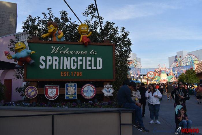 Ciudad de Springfield en Universal Studios