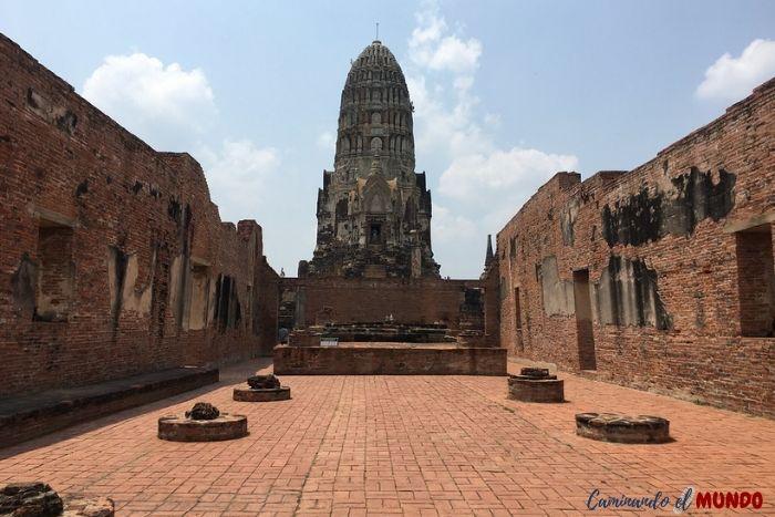 Templo-de-Ayutthaya