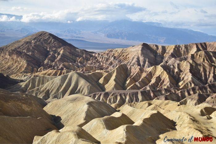 Zabrinsky Point en el Valle de La Muerte