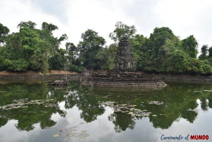 Templo Neak Pean en Angkor Wat