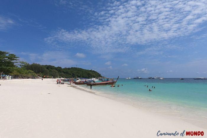Playa de ensueño en Koh Lipe