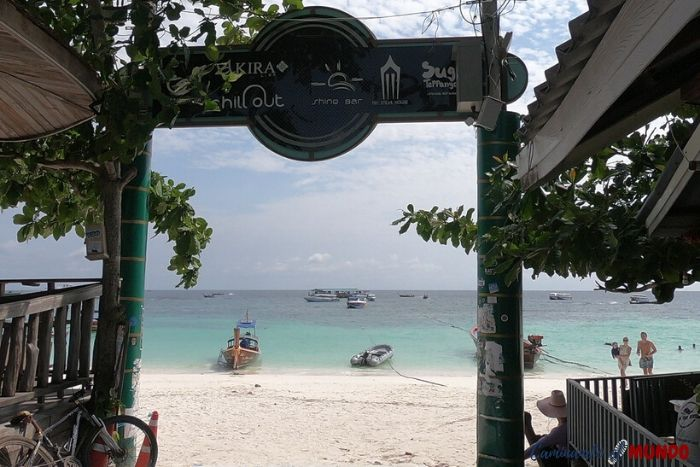 Playa paradisíaca en Pattaya Beach