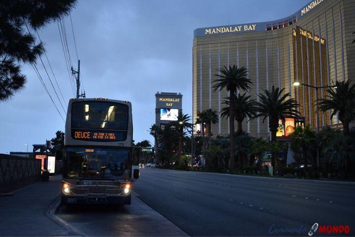 Visitar Las Vegas en el bus turístico The Deuce