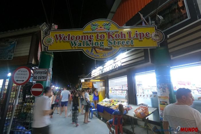 Walking Street en Koh Lipe