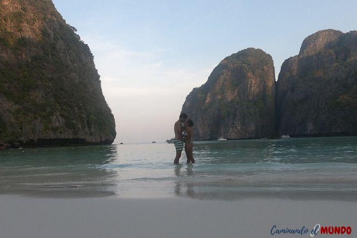 Enamorados de Maya Bay, la perna de nuestra ruta por tailandia