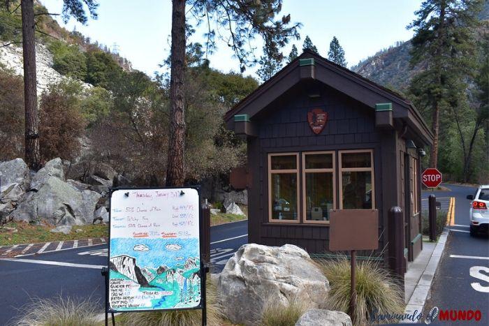 Entrada al Parque Yosemite