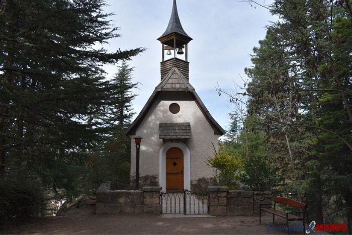 Iglesia en nuestra visita a la cumbrecita