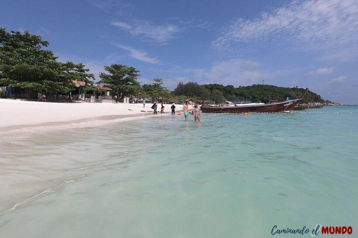Koh Lipe y sus playas paradisíacas