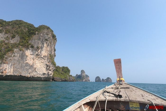 Long Tail Boat en Ao Nang