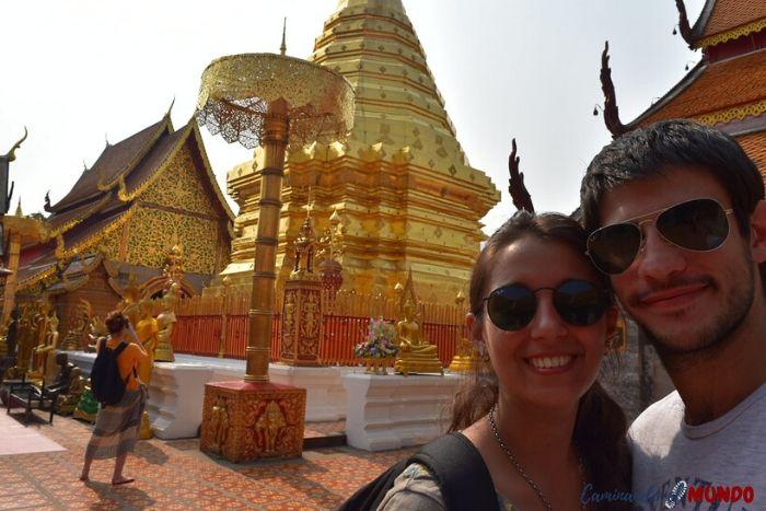 Templo Doi Suthep en nuestra ruta por TailandiaTemplo Doi Suthep en nuestra ruta por Tailandia