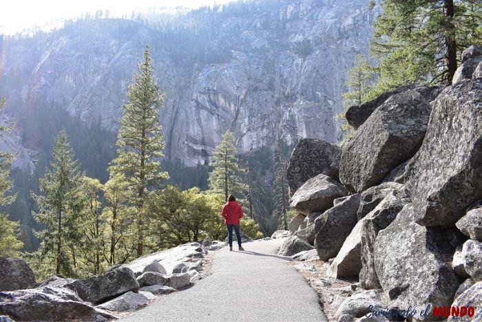 Vernal Falls en Yosemite