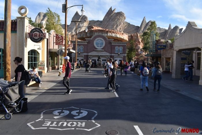Carsland Disney California