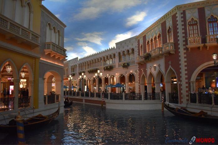 Interior del Hotel Venetian