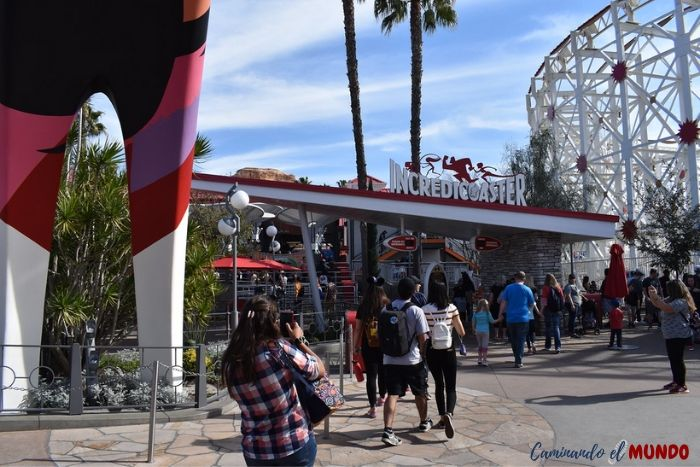 Incredicoaster en Disney California