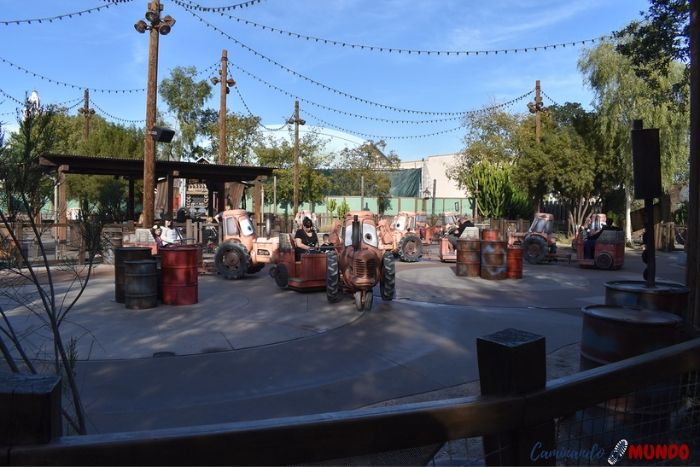 Mater's Junkyard Jamboree Disney California