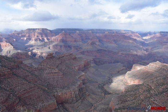 Increíble vista del Río Colorado del Gran Cañón