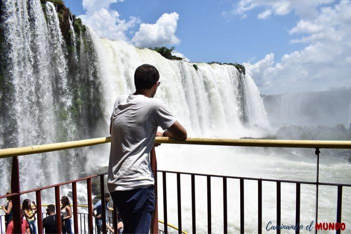 Último balcón a las cataratas del lado brasilero