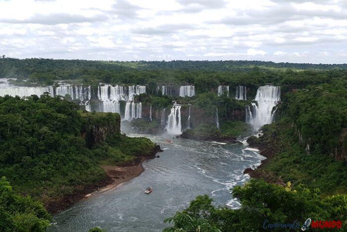 Cataratas lado brasilero de frente