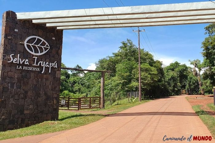 Entrada selva Iryapu