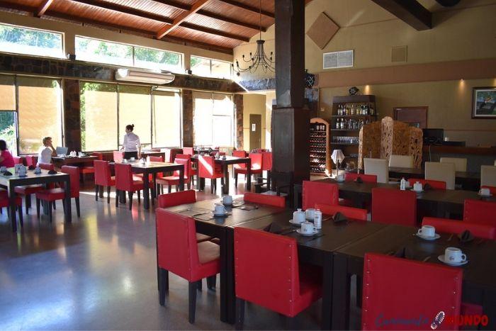Restaurante del hotel Yvy