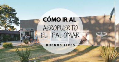 Cómo ir al aeropuerto El Palomar