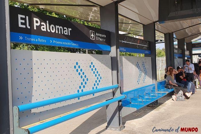 Estación de Tren en el Palomar