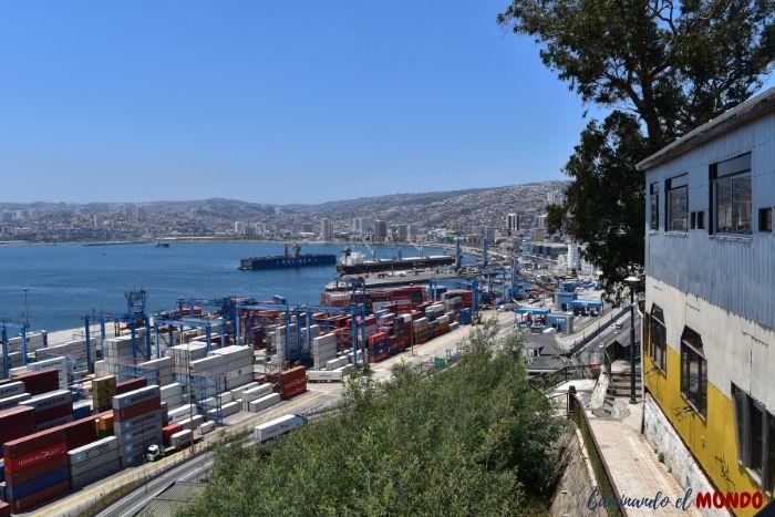 Postal de Valparaíso