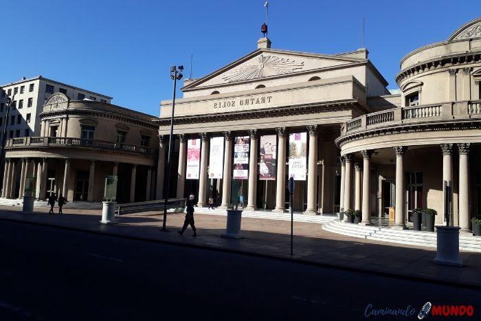 Teatro Solis en Montevideo
