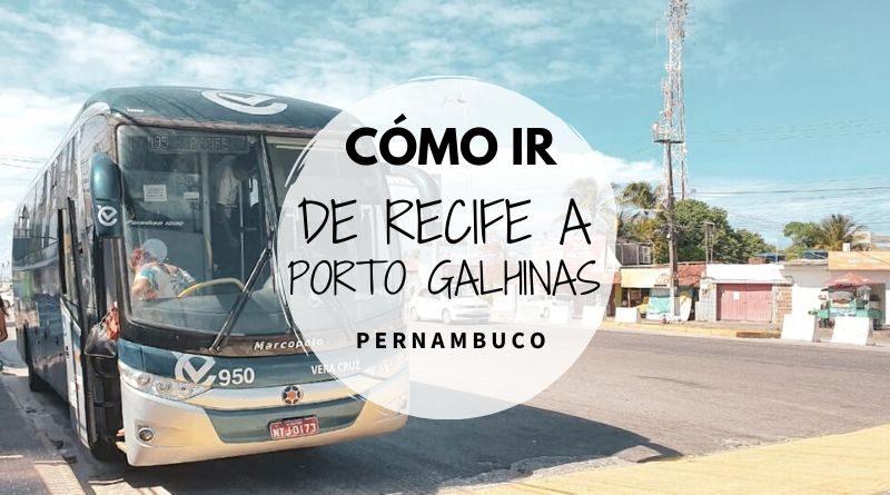 Ir de Recife a Porto de Galhinas