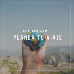 Planeá tu viaje