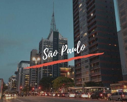Nuestros viajes por Sao Paulo