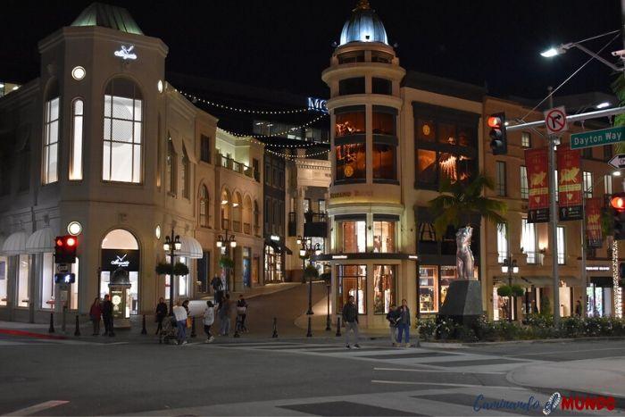 Beverly Hills y sus tiendas