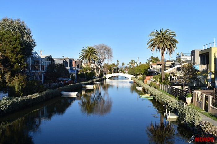Canales de Venice Beach