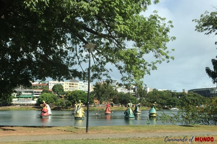 Lago de los Dioses en Salvador