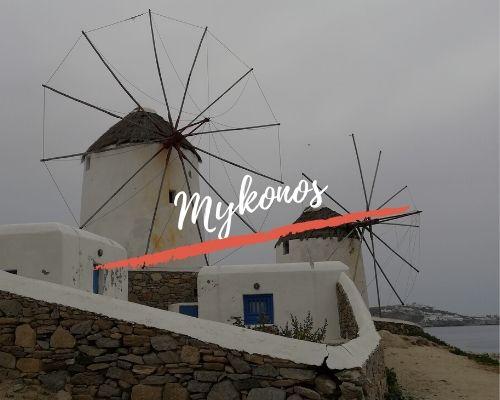 Nuestros viajes por Mykonos