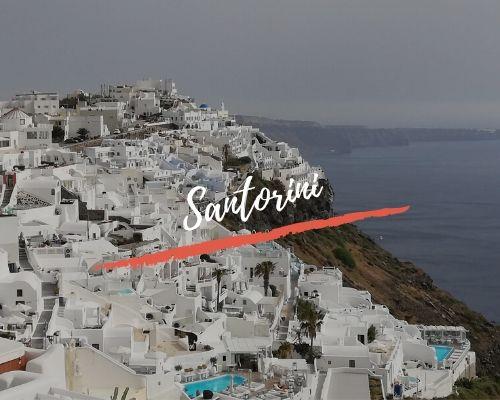 Nuestros viajes por Santorini