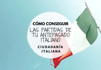 Cómo conseguir las partidas de tu ancestro italiano.