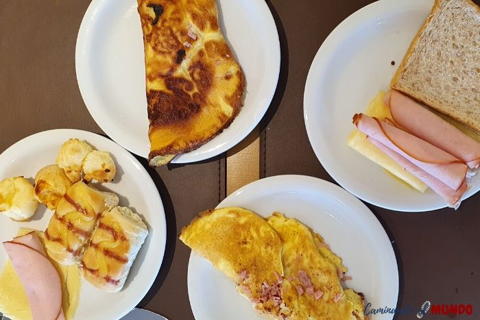 Desayuno hotel Villa d Oro