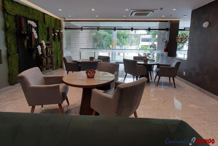 Lobby del hotel en Recife