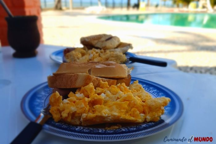 Desayuno Prive Villages Maragogi