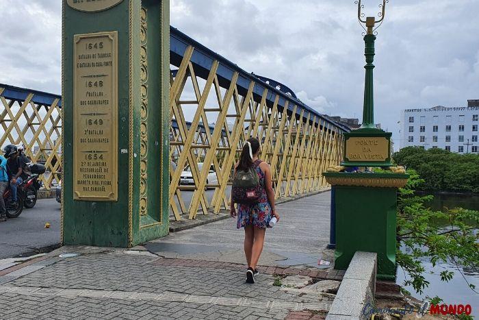 Puente Boa Vista en RECIFE