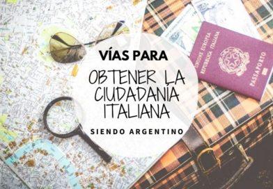 obtener la ciudadanía italiana