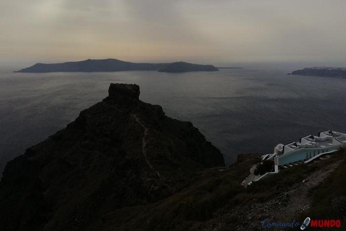 Akra Sakaros en Santorini