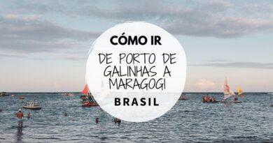 Cómo ir de Porto de Galinhas a Maragogi