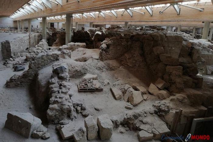 Ruinas de Akrotiri