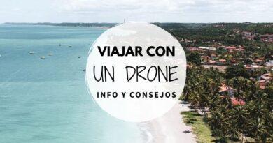 Viajar con drone