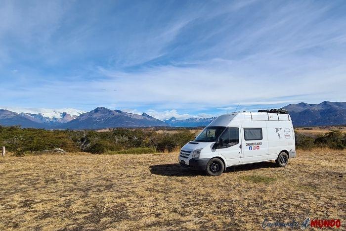 Camping-El-Huala-Lago-Roca-El-Calafate